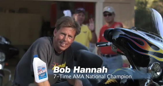 Lucas Oil – Bob Hannah Motorcycle Oil Spot
