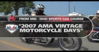 Vintage Motorcycle Days on Versus