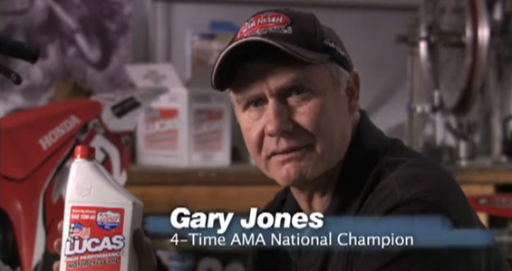 Lucas Oil – Gary Jones Motorcycle Oil Spot