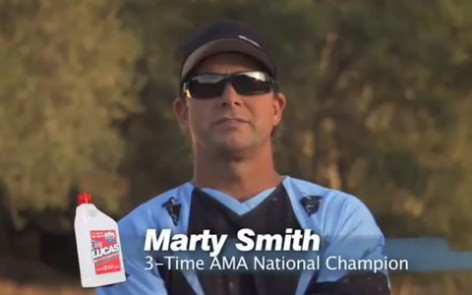 Lucas Oil – Marty Smith Motorcycle Oil Spot