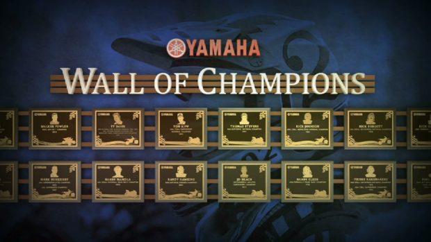 Yamaha Motorcycles – 2017 Wall of Champions videos